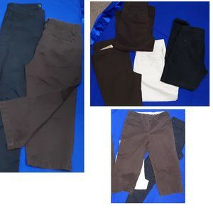 Pants - 4 PAIRS Brand Name Size 8 Jeans,Pants